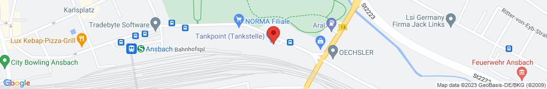 BayWa AG Ansbach Anfahrt
