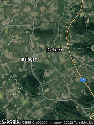 Google Map of Diebach