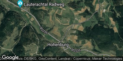 Google Map of Hohenburg