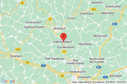Karte Haßmersheim