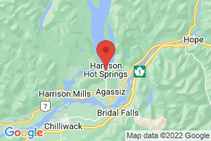 Map of Harrison Hot Springs