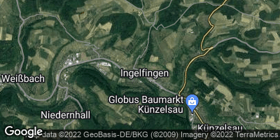 Google Map of Ingelfingen