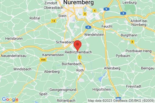 Karte Rednitzhembach