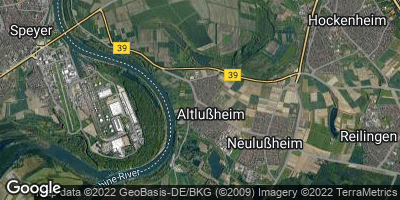 Google Map of Altlußheim