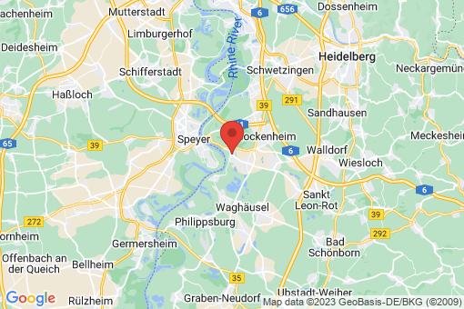 Karte Altlußheim