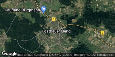 Google Map of Postbauer-Heng