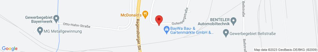 BayWa Baustoffe Schwandorf Anfahrt