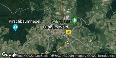 Google Map of Furth im Wald
