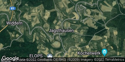Google Map of Jagsthausen
