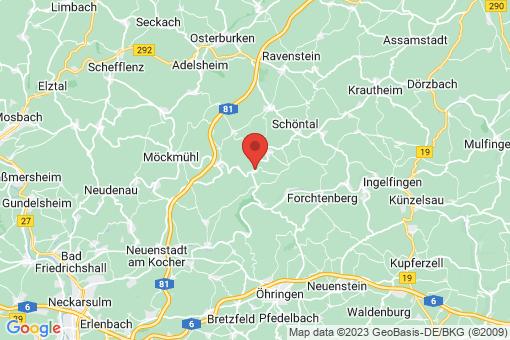 Karte Jagsthausen