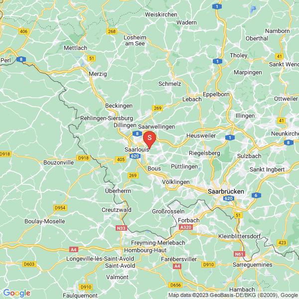 DAV- Kletteranlage Ensdorf Sekt. SBS / ASS / SBSB
