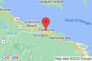 Map of Parksville
