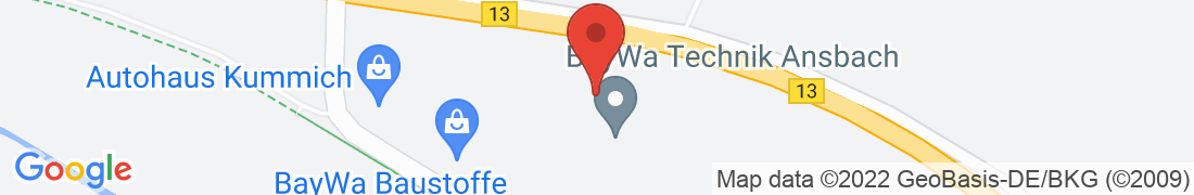 BayWa Technik Ansbach Anfahrt
