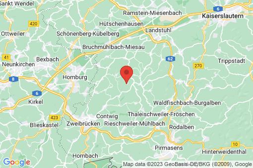 Karte Biedershausen