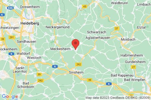 Karte Neidenstein