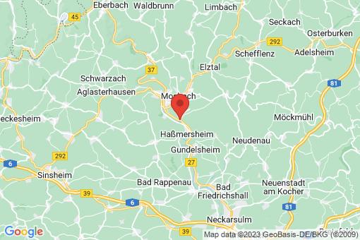 Karte Neckarzimmern