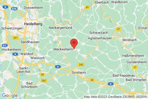 Karte Eschelbronn