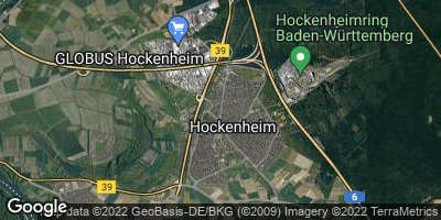 Google Map of Hockenheim