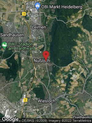 Google Map of Nußloch