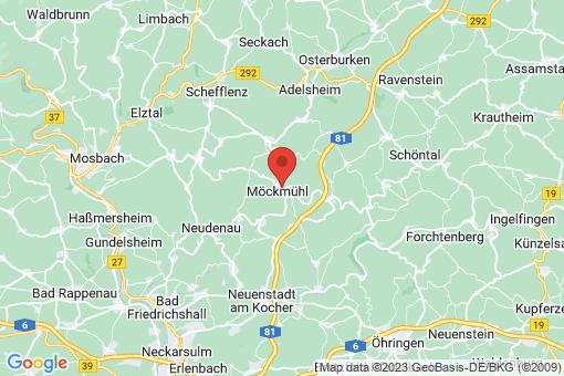 Karte Möckmühl