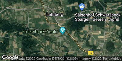 Google Map of Lehrberg