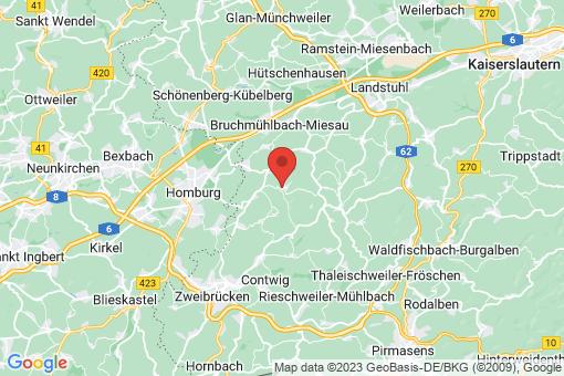 Karte Wiesbach