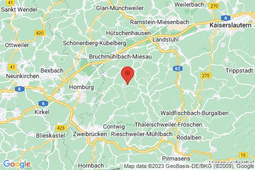 Karte Krähenberg