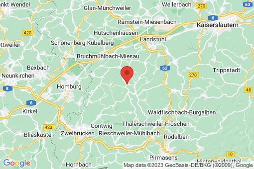 Karte Knopp-Labach