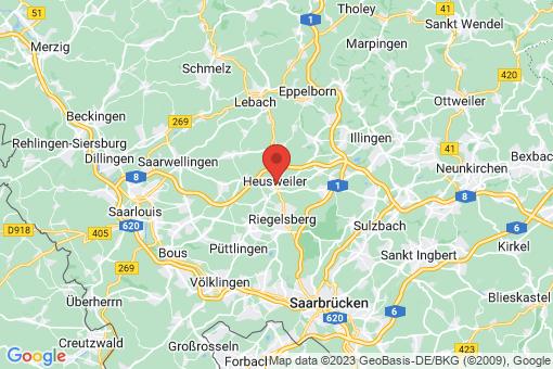 Karte Heusweiler