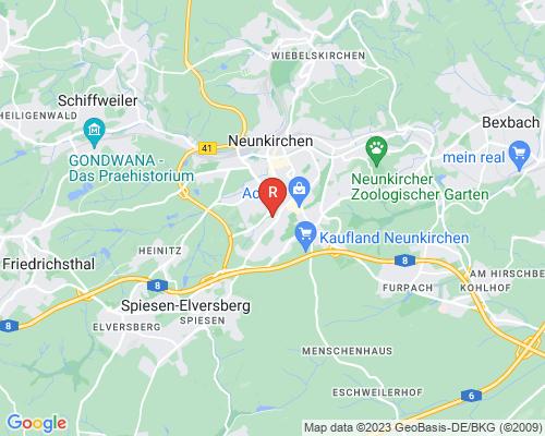 Google Karte von Rohrreinigung Neunkirchen