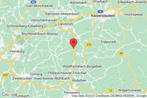 Karte Weselberg