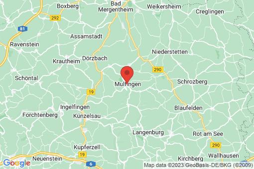 Karte Mulfingen
