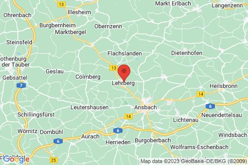 Karte Lehrberg