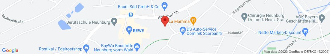 BayWa Baustoffe Neunburg Anfahrt