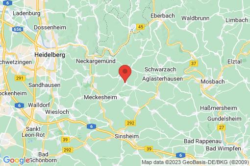 Karte Spechbach