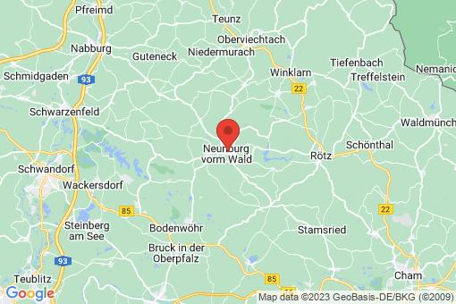 Karte Neunburg vorm Wald