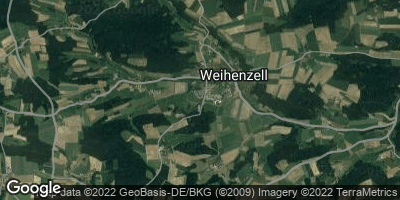 Google Map of Weihenzell