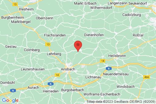 Karte Weihenzell