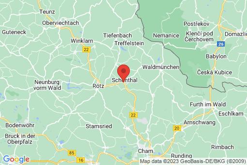 Karte Schönthal