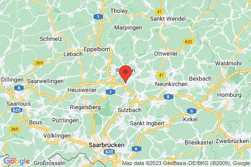 Karte Merchweiler