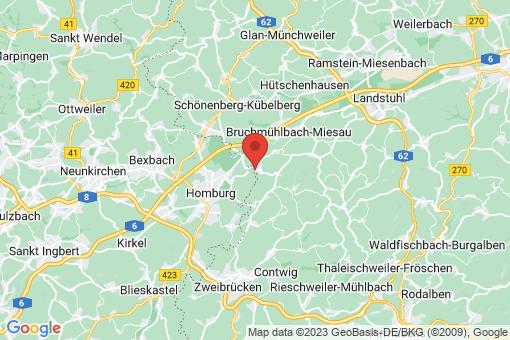 Karte Bechhofen