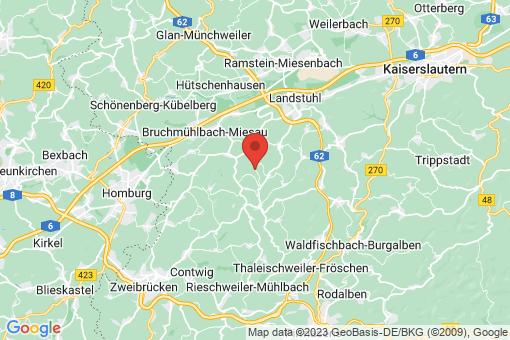 Karte Gerhardsbrunn