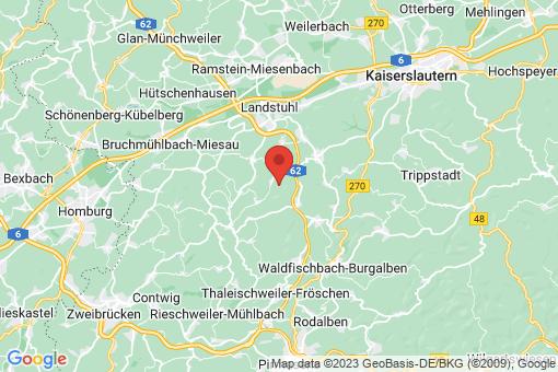 Karte Obernheim-Kirchenarnbach