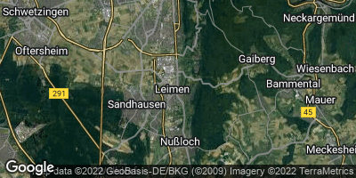 Google Map of Leimen