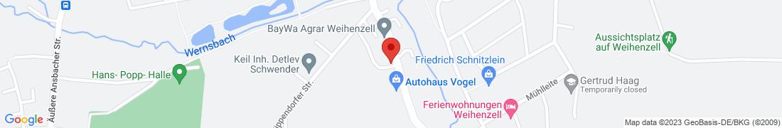 BayWa AG Weihenzell Anfahrt