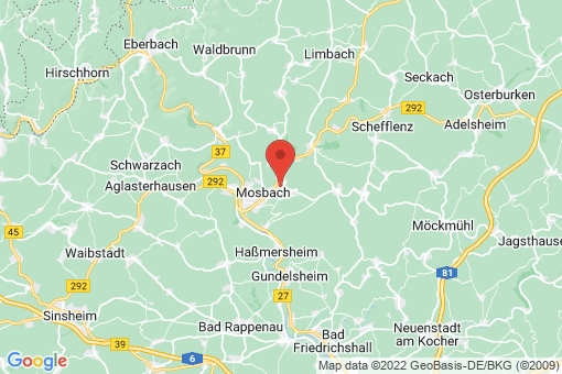 Karte Mosbach