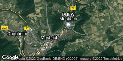 Google Map of Mosbach