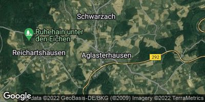 Google Map of Aglasterhausen