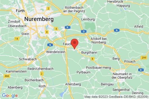 Karte Schwarzenbruck