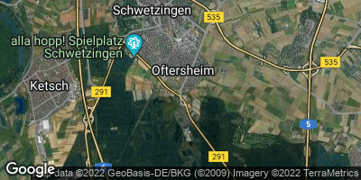 Google Map of Oftersheim